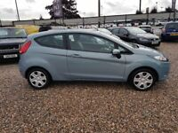 2009 Ford Fiesta 1.4 TDCi Style+ 3 door DIESEL 1 owner FSH rare Moonstone £30 year tax HUGE MPG MK7