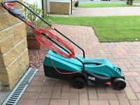 Bosch Electric Lawnmower - Rotak 32 R (nearly new with box)