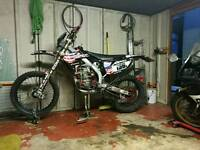 Crf 450 pastics and air box