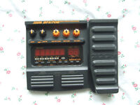 Zoom BFX-708 Bass Guitar Multi-effects Pedal :- Chorus Delay Wah SynthBass Distortion Drums etc