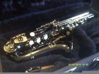 SOPRANO SAXOPHONE, BLACK & GOLD , YOU CAN'T DO BETTER THAN A BRAND NEW ONE , HERE IT IS +++