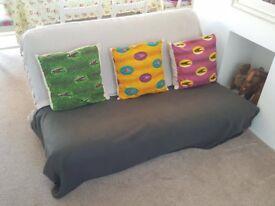 Two Seater Futon / Sofa Bed