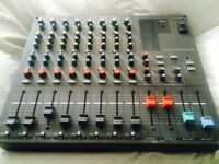 Vintage Sony Mxp-290 Professional 8ch Broadcast Audio Mixer