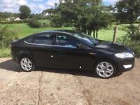 2009 Ford Mondeo 2.2 TDCi Titanium X, 10 Months Mot, Panther Black, Heated Half Leather