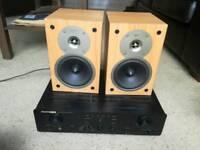 Gale speakers monitors & Marantz PM-4400 Amplifier Amp HiFi