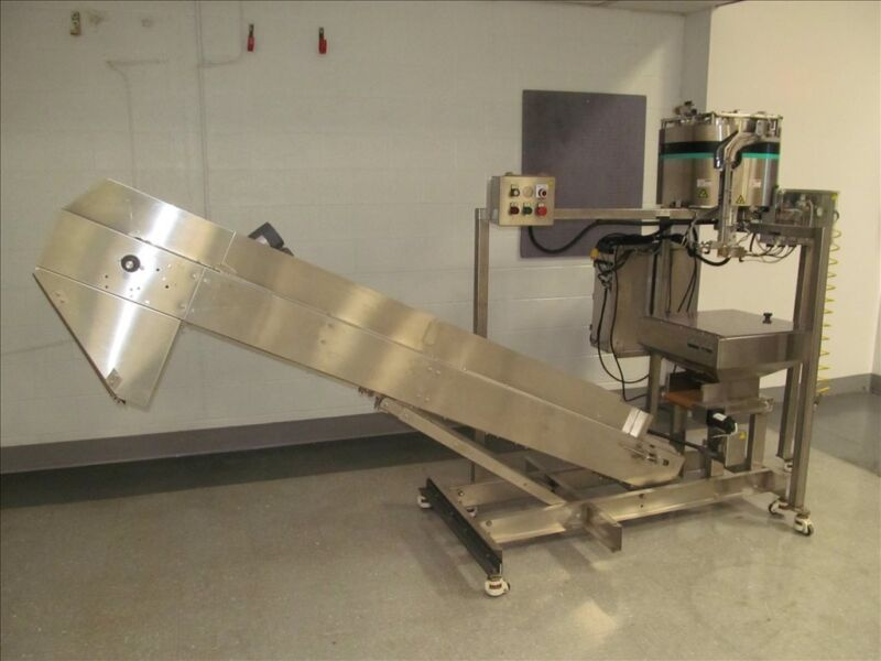 HOPPMAN LB3 CAPSULE COUNTER AND BATCH FEED SYSTEM B38444