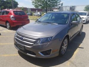 2012 Ford Fusion SEL, Leather and Sunroof,Accident Free