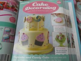Over 100 cake decorating magazines