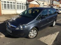 2009 Vauxhall Zafira 1.6 16v Petrol 5 Doors 1 Year MOT Smooth Drive Cheapest 7 Seater Family car