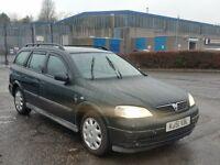2001 (51 Reg) Vauxhall Astra 1.6 16v LS Estate, Mot'd til 16/03/2017 Only £350