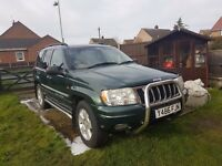 JEEP GRAND CHEROKEE 4.7 V8 with LPG