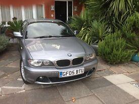 2005 - BMW 318CI SPORT COUPE 1995cc, 2 DOOR, METALLIC SPACE GRAY, 1018000 MILES