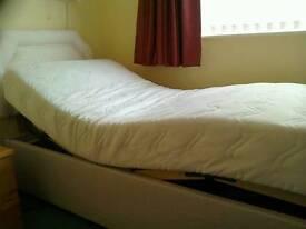 HSL single electric adjustable bed