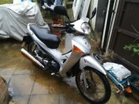 Honda Innova ANF 125 Moped learner scooter project c90 cub