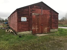 Large Barn to rent
