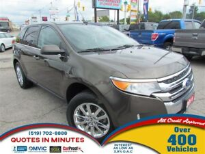 2011 Ford Edge LIMITED | AWD | LEATHER | SUNROOF | NAV | DVD