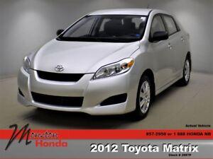 2012 Toyota Matrix Base (A4)
