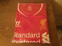 Lfc signed shirt