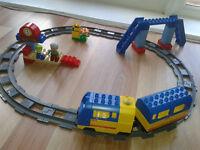 Lego Duplo train track