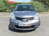 2009 NISSAN NOTE 1.4 MPV ONE YEAR MOT LOW MILEAGE CHEAP TO RUN NICE CONDITION