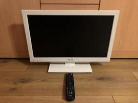 TOSHIBA 22 INCH LED FULL HD TV + BUILT IN DVD!