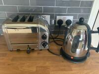 Dualit Kettle and Dualit 3 Slot Vario Toaster
