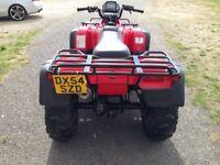 HONDA TRX 450 FOREMAN 4X4 ROAD LEGAL ATV FARM QUAD 420 500 700 YFM GRIZZLY