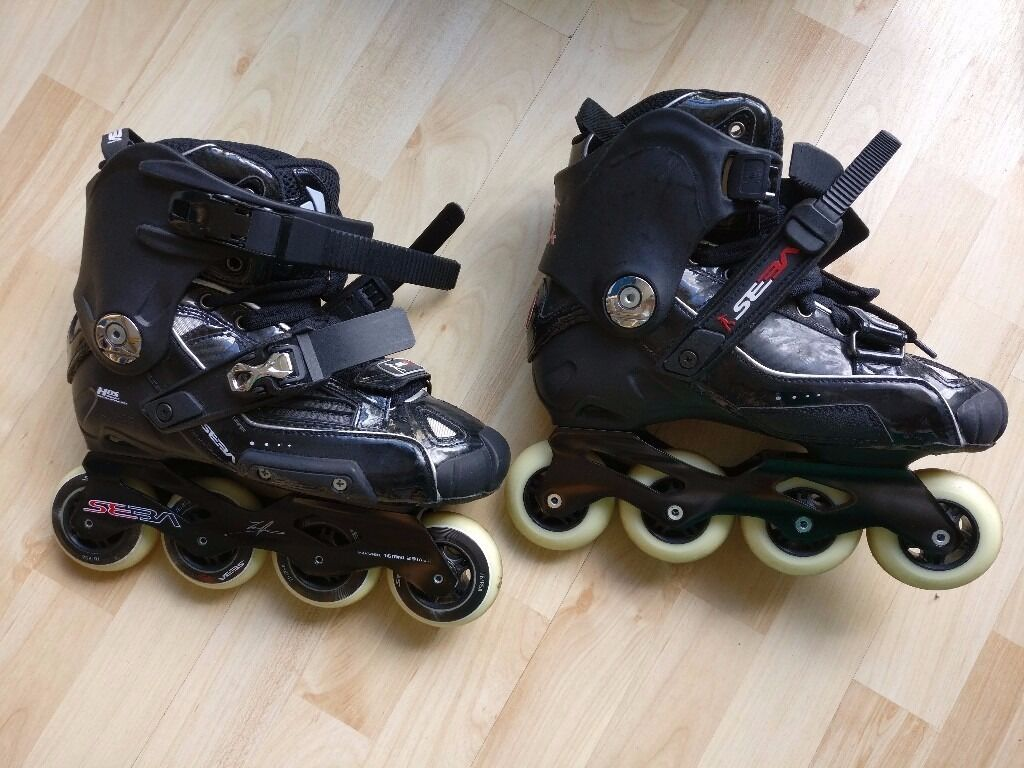Roller skates kingston - Inline Skates Seba High Black Uk Size 6 39 Used Almost New