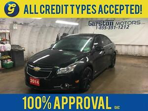 2014 Chevrolet Cruze LT*RS TURBO*LEATHER*SUNROOF*REMOTE START*MY