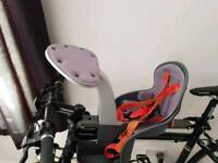 Child's front bike seat very good condition
