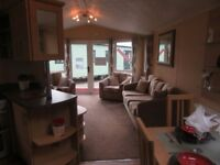 Stunning 2 bed caravan on a quiet plot at Hunters Quay, near Dunoon, open all year round
