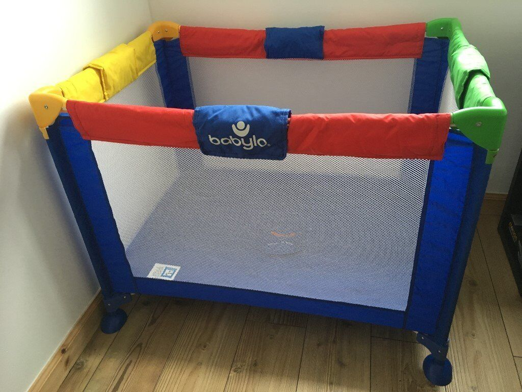online store 1ee29 0c87a Babylo Travel Cot /playpen full-size deluxe: hardly used | in Cathcart,  Glasgow | Gumtree