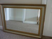 Large Mirror in Gold Frame