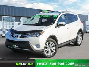 2015 Toyota RAV4 Limited REDUCED | HEATED LEATHER | NAV | SUN...