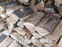 Firewood logs kiln dried hardwood Ash £75 for a 1m3 bag