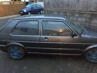 VW GOLF MK2 1.8T KO4 PROJECT