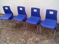 Toddler Chairs x 4 - Ideal Childminder Roundhay Park Leeds 8 - Can Deliver