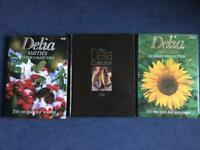 Delia Smith cook hard back books 3 in total for £2.00