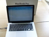 MacBook Pro 13, 3.3 Core I5 4Gb Ram 320GB HD latest OSX and Logic Pro X