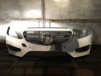 2015 MERCEDES E CLASS W212 FRONT AMG NIGHT EDITION COMPLETE BUMPER