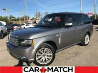 2012 Land Rover Range Rover SUPERCHARGED / AUTOBIOGRAPHY / ORANG Cambridge Kitchener Area Preview