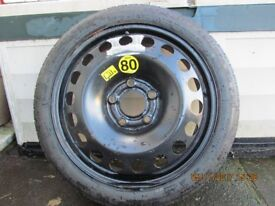 SPACE SAVER SPARE WHEEL FOR EMERGENCIES