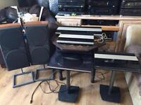 BANG&Olufson stereo set up