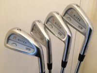 Golf clubs - Miura CB-202 irons 3-6 irons £295