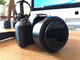 Canon EOS 600D DSLR Camera - 50mm 1.8 & 10-18mm IS STM Lens + Lots of extras!