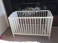 Cot bed IKEA great condition with matterass