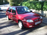 Low mileage MOT Sept 17 one family owned. Sun roof, radio/cd, 4 door, grey interior, very reliable.