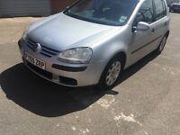 Volkswagen Golf diesel 2005 cheap £995ono