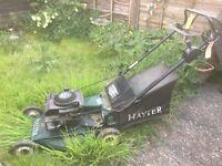 Rotary Petrol Lawnmower, Hayter Hunter 54