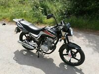 Lexmoto Arrow 125 Low milage motorcycle, excellent condition MOT expires Feb 2019. Practicly New